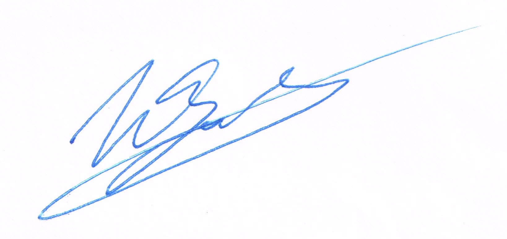 handtekening Wim