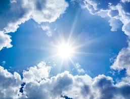 zon breekt door
