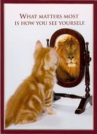 Spiegel hoe zie jij jezelf