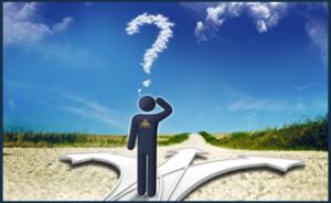 Sta je op een kruispunt van je leven?