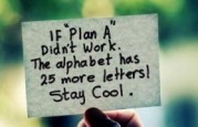plan A 25 more letters