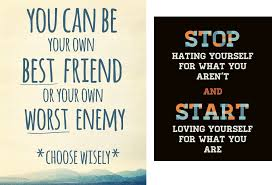 your own friend or enemy